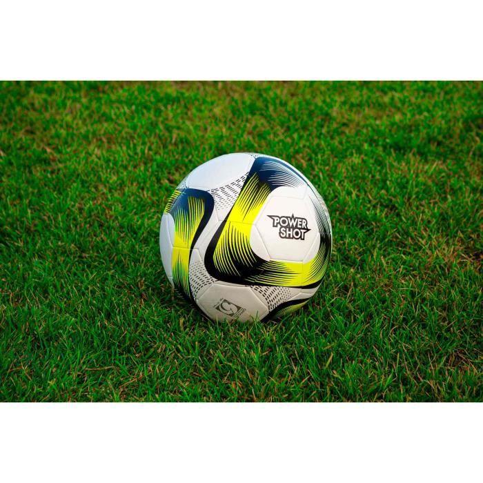 Ballon de foot Jaune / noir - Match & entrainement - taille au choix