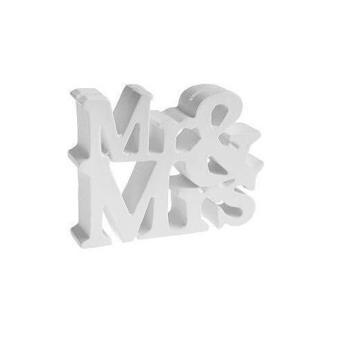 Marque-place mariage: Mr et Mrs (x1) REF/5260