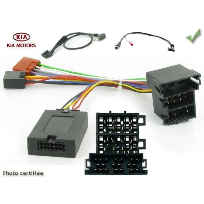 Soul Rio Autoradio Antenne Radio Adaptateur Câble pour Kia Ceed Picanto