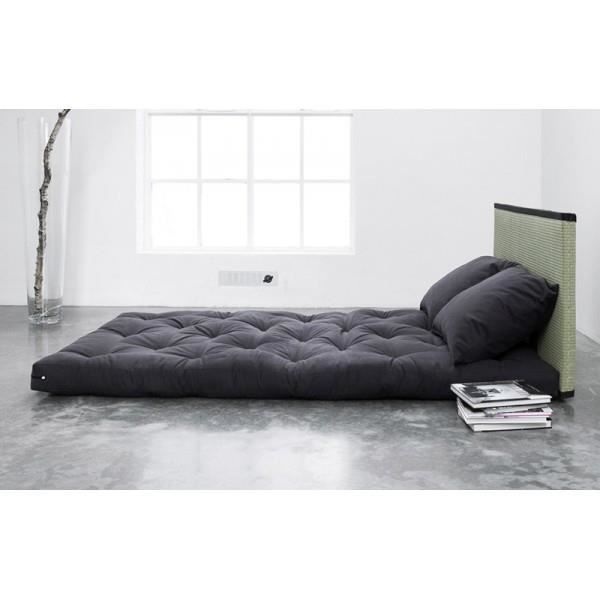 Lit sano tatami futon purple 2 places achat vente structure de lit so - Lit 1 place convertible 2 places ...