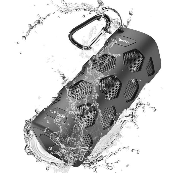 ENCEINTE NOMADE [Enceinte Bluetooth] Portable, 20W Haut-Parleur Bl