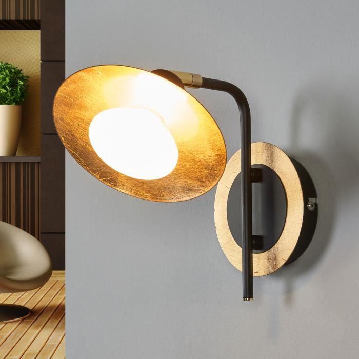 APPLIQUE  Lampenwelt applique LED pour salon et salle à mang