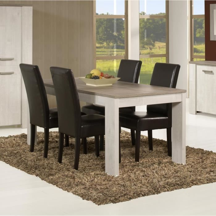 Table de salle manger bogart table l 140 x p 140 x h for Table salle a manger 70 cm