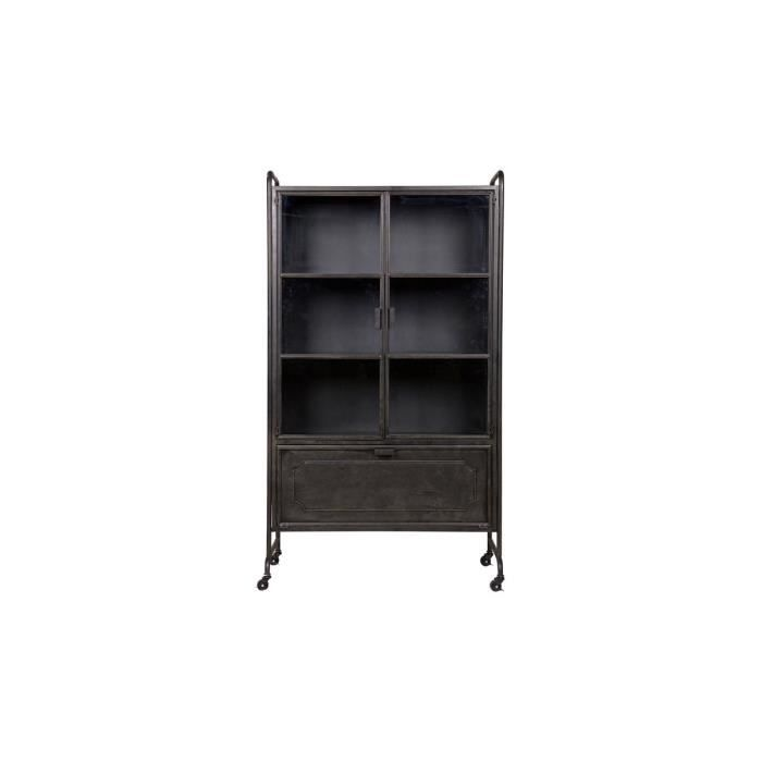 vaisselier style industriel achat vente vaisselier style industriel pas cher soldes d s. Black Bedroom Furniture Sets. Home Design Ideas