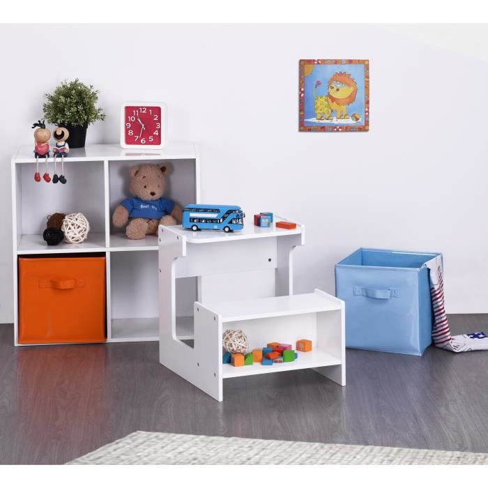 finlandek bureau enfant banc kukko scandinave blanc l 41 cm achat vente bureau finlandek. Black Bedroom Furniture Sets. Home Design Ideas
