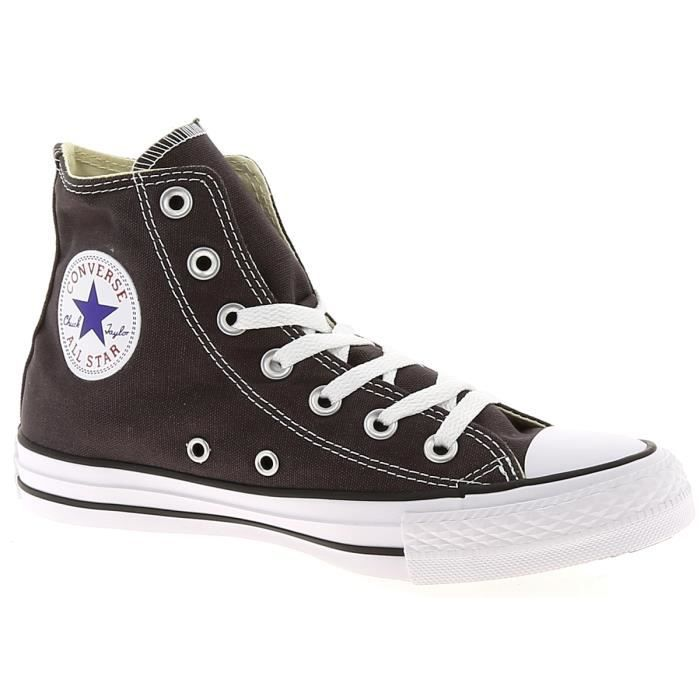 Baskets basses - CONVERS ALL STAR HI TOILE Anthracite ...