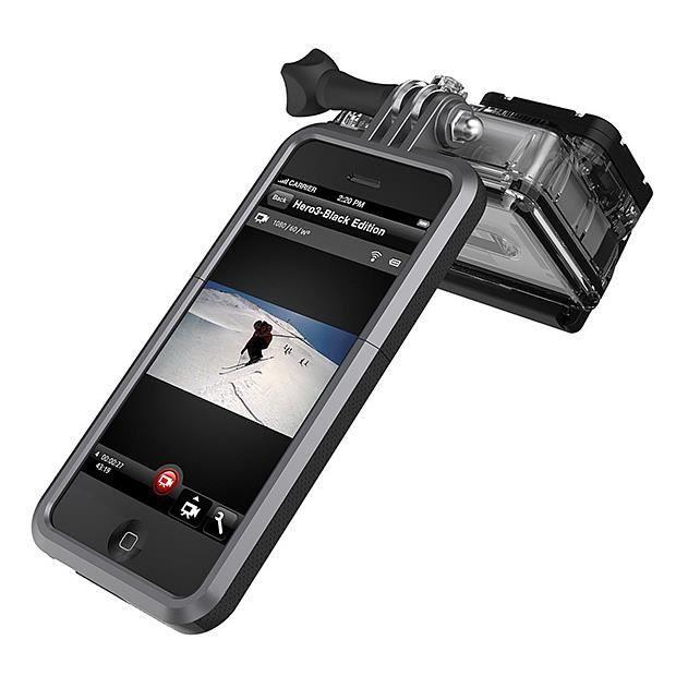Coque iphone 5/5s avec monture GoPro ProView Noir - Cdiscount ...