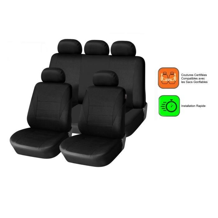housse siege auto clio 2 achat vente housse siege auto clio 2 pas cher black friday le 24. Black Bedroom Furniture Sets. Home Design Ideas