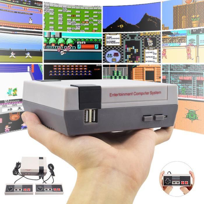 CONSOLE RÉTRO Mini Consoles de Jeu Vintage 620 Jeux Intégrés Vid