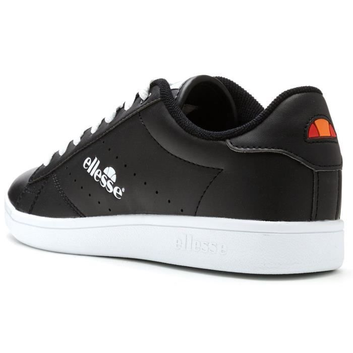 Ellesse Anzia Low Formateurs Baskets en Noir & Blanc 5510038 25Y [UK 9.5EU 44] SU0E5F1PS