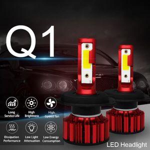 ALLUMAGE AUTO DES FEUX LED Q1-H4 Ampoule Module de conversion Headlamp IP