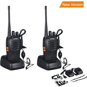 TALKIE-WALKIE 2 pcs Walkie Talkies baofeng BF-888S 16CH Signal B