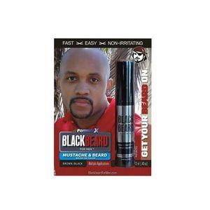 COLORATION Blackbeard Mens Brush on Colour Brown Black