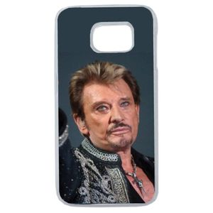 coque samsung s7 edge johnny hallyday
