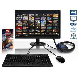 UNITÉ CENTRALE + ÉCRAN VIBOX Ultra 11L PC Gamer Ordinateur avec War Thund
