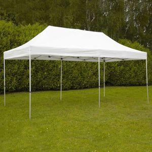 TONNELLE - BARNUM Tente pliante 3x6 m Tonnelle de réception pro