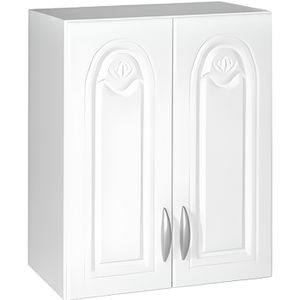 ÉLÉMENTS HAUT Meuble cuisine haut 60 cm 2 portes DINA blanc