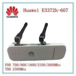 MODEM - ROUTEUR Débloqué E3372 E3372h-607 + Double Antenne 4g Lte