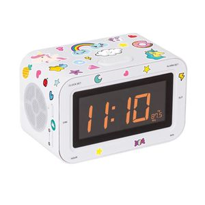 RADIO CD CASSETTE Bigben Interactive RR30BCUNICORNSTICK, Horloge, AM
