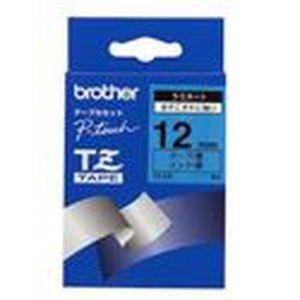 Brother TZFX221 Ruban flexible noir sur blanc Rouleau 0,9 cm x 8 m