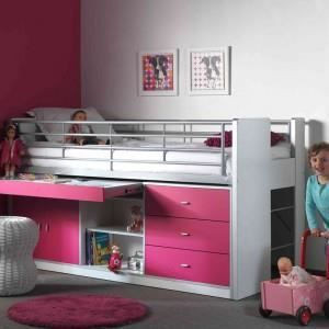 lit combine fille achat vente lit combine fille pas. Black Bedroom Furniture Sets. Home Design Ideas