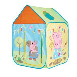 TENTE TUNNEL D'ACTIVITÉ PEPPA PIG World Appart Tente de Jeu maisonnette Po