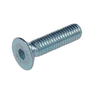 DIN 7991 // ISO 10642 /à six pans creux acier inoxydable V2A VA A2 20 pi/èces Vis /à t/ête frais/ée SECCARO M5 x 80 mm