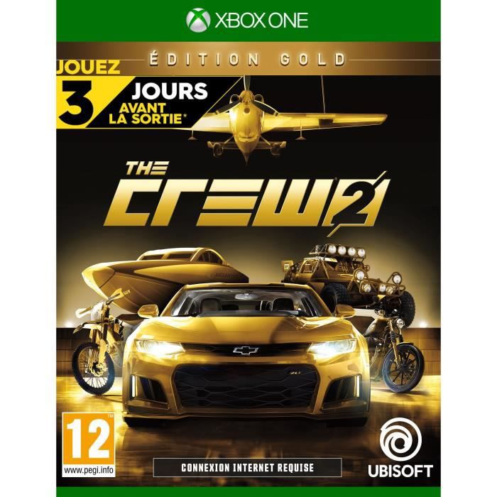 The Crew 2: Édition Gold Jeu Xbox One