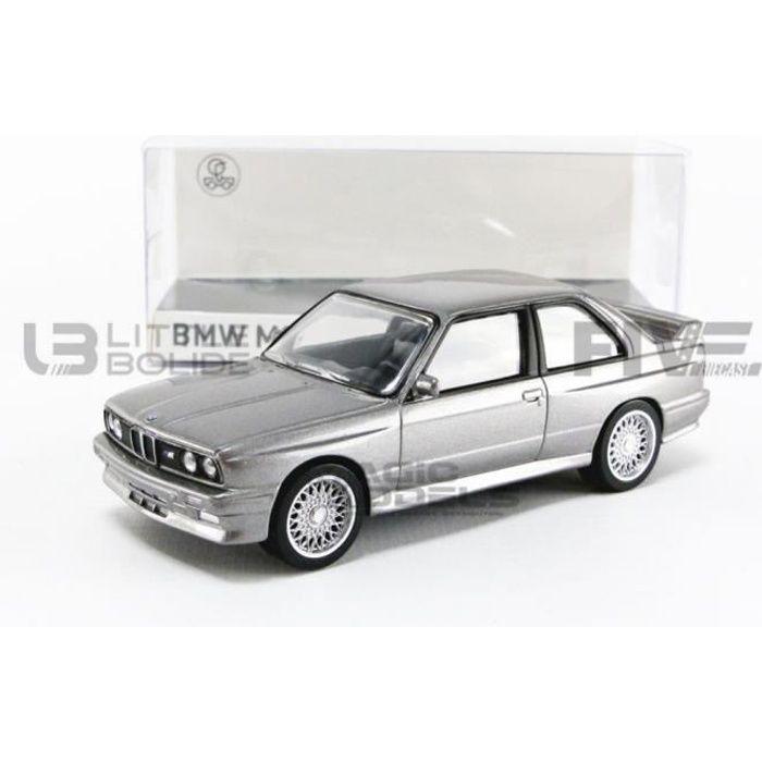 Voiture Miniature de Collection - NOREV 1/43 - BMW M3 E30 - 1986 - Silver - 350008