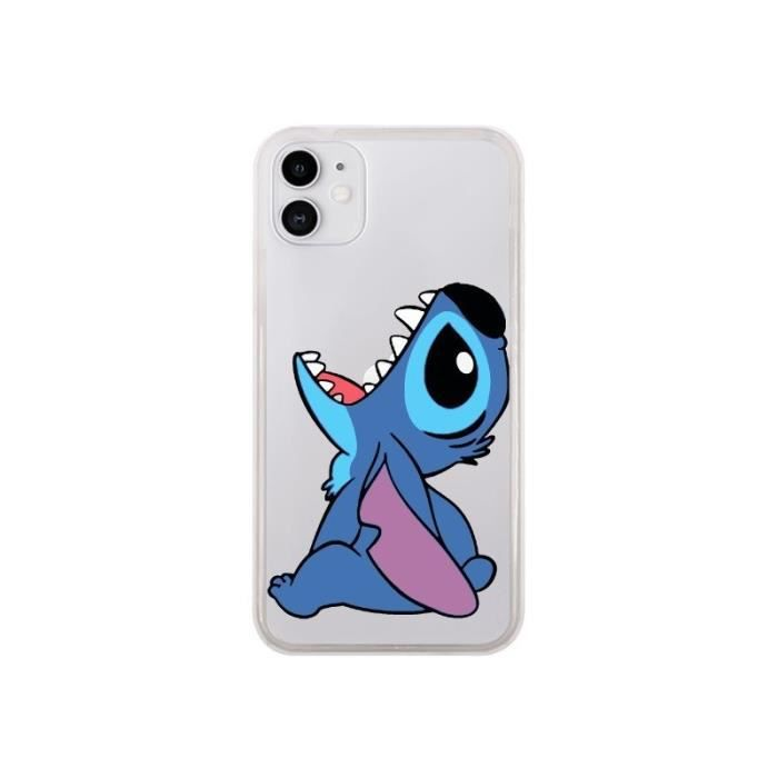 Coque Iphone 11 Stitch de Lilo et Stitch Transparente 0,000000