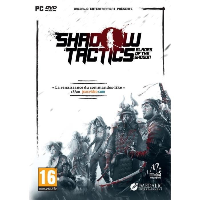 Shadow Tactics - Blades of the Shogun Jeu PC