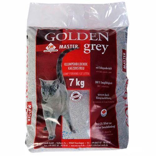Golden Grey Master, litière agglomérante d'exce…