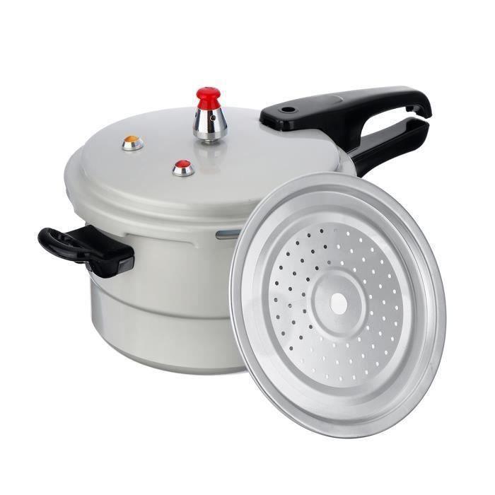 Autocuiseur Secure Cuiseur à Pression Relâche Multifonction - pour Cuisinière à Gaz - 4L - 20cm Ro48133