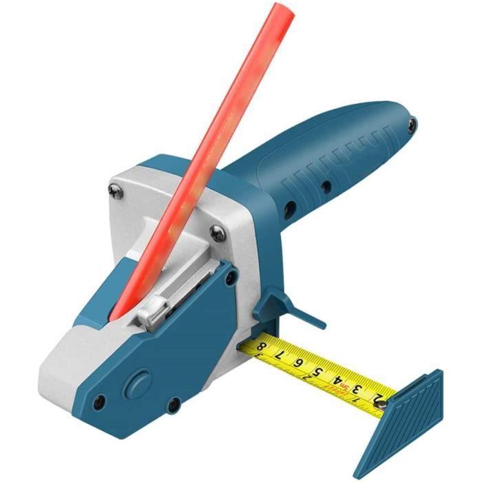 KKmoon Cutter pour plaque de plâtre, outil de découpe pour plâtre avec mètre à ruban Outils de coupe pour écritures de travail du bo