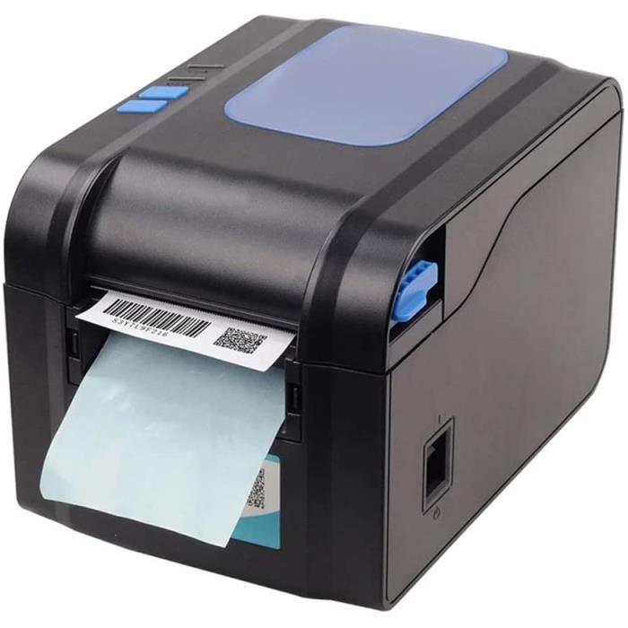 WiFi IMPRIMANTERSTJVB Imprimante d'&eacutetiquettes Thermique Imprimante d'autocollant de Code à Barres 20mm-80mm Imprim176