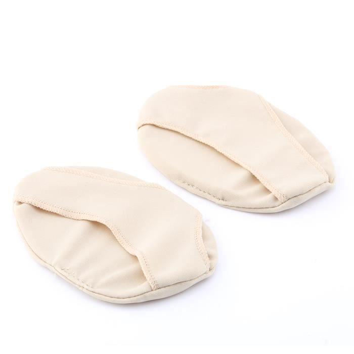 1 paires, Gel métatarsien Coussinets, respirant Pied Coussins, Plante des pieds protection support pour talon, Soulagement de la