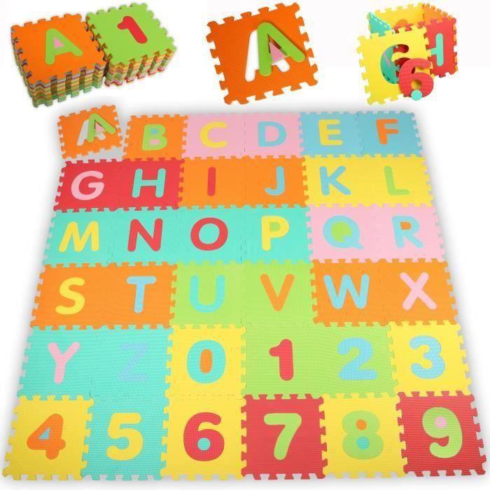 Tapis d'éveil puzzle en mousse b18237 Mai101809