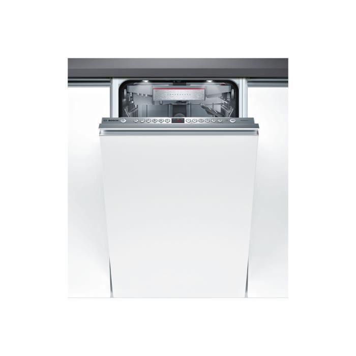 Bosch Serie 6 PerfectDry SPV66TX01E Lave-vaisselle intégrable Niche largeur : 45 cm profondeur : 55 cm hauteur : 81.5 cm acier…