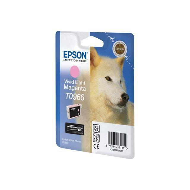EPSON T0966 CARTOUCHE D'ENCRE D'ORIGINE VIVID M…