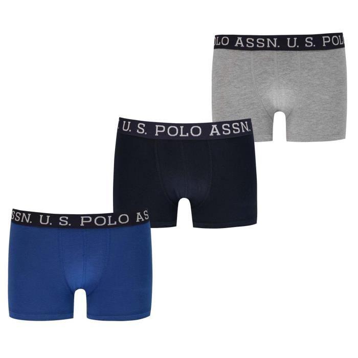 Us Polo Assn Lot De 3 Boxers Enfants