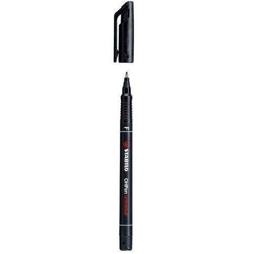 STABILO OHPen F (0.7 mm) permanent - noir