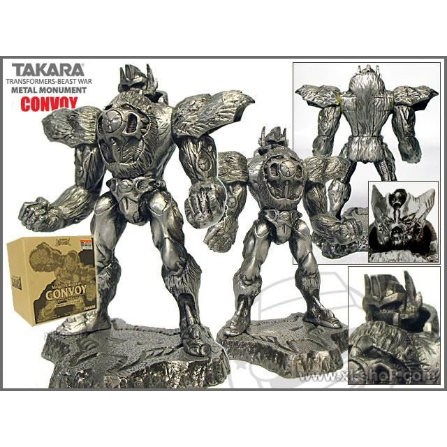 FIGURINE MINIATURE TRANSFORMERS Beast wars metal monument : CONVOY Optimus Prime Takara Tomy