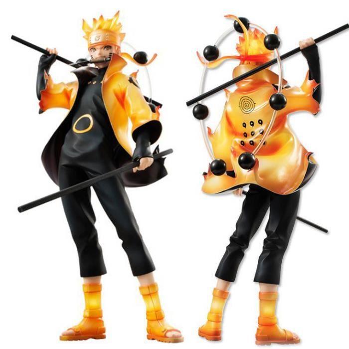 Figurine 18cm Anime Naruto Rikudou mode Sennin Uzumaki Naruto PVC Jouets
