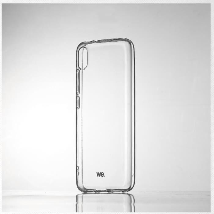 WEWE Coque de protection transparente pour smartphone XIAOMI REDMI 7A Fabriqué en TPU. Ultra résistant Apparence du téléphone