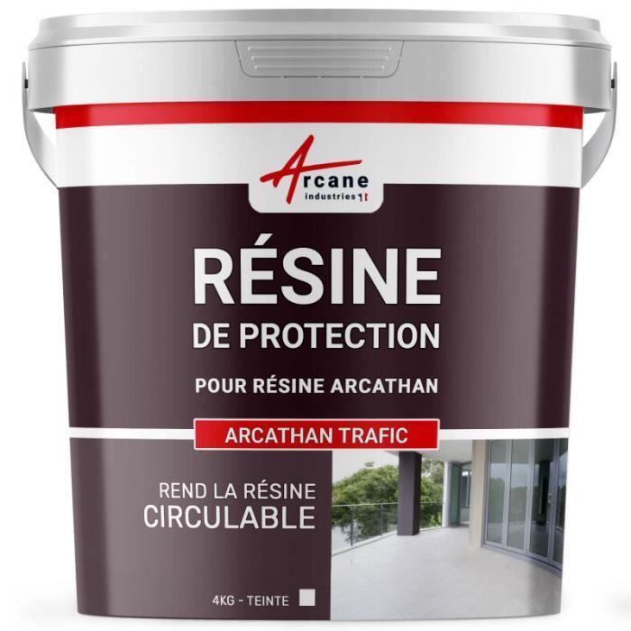 Resine De Finition Circulable Polyurethane 4 Kg Achat Vente Kit D Etancheite Arcathan Trafic Cdiscount