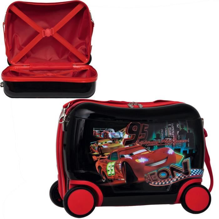 petite valise roulettes cars achat vente valise. Black Bedroom Furniture Sets. Home Design Ideas