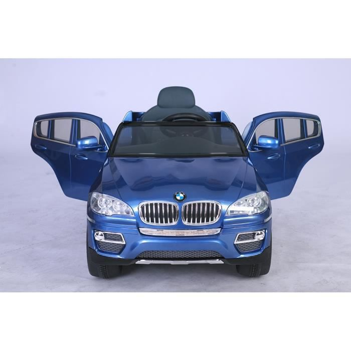 petite 4x4 voiture lectrique 12v bmw bleu m tal achat. Black Bedroom Furniture Sets. Home Design Ideas