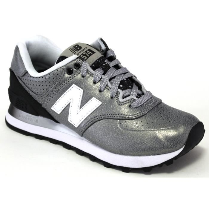 New Balance Sneakers - WL574 Womens Metallic