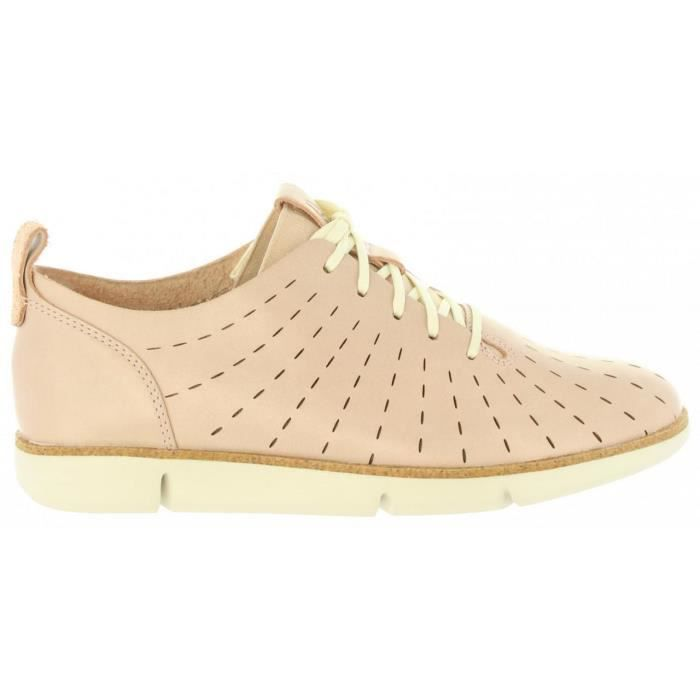 Chaussures pour Femme CLARKS 26132527 TRI ETCH NUDE PINK LEA