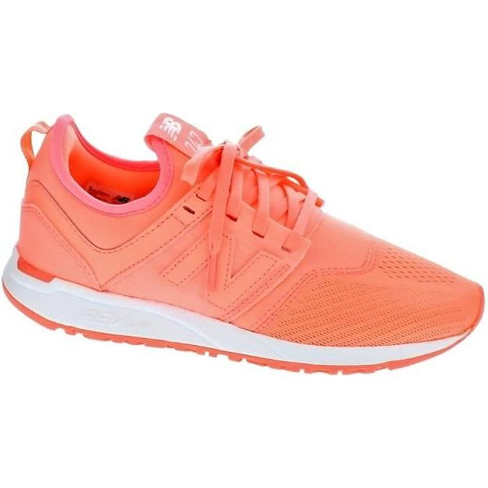 Baskets basses New Balance 247 Femme Orange 37M